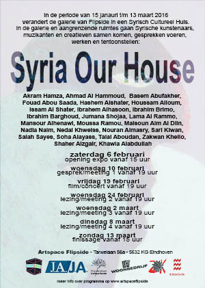 Syria Our House achterkant web flyer